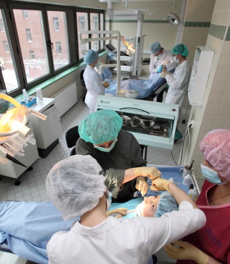 Детская челюстно-лицевая хирургия