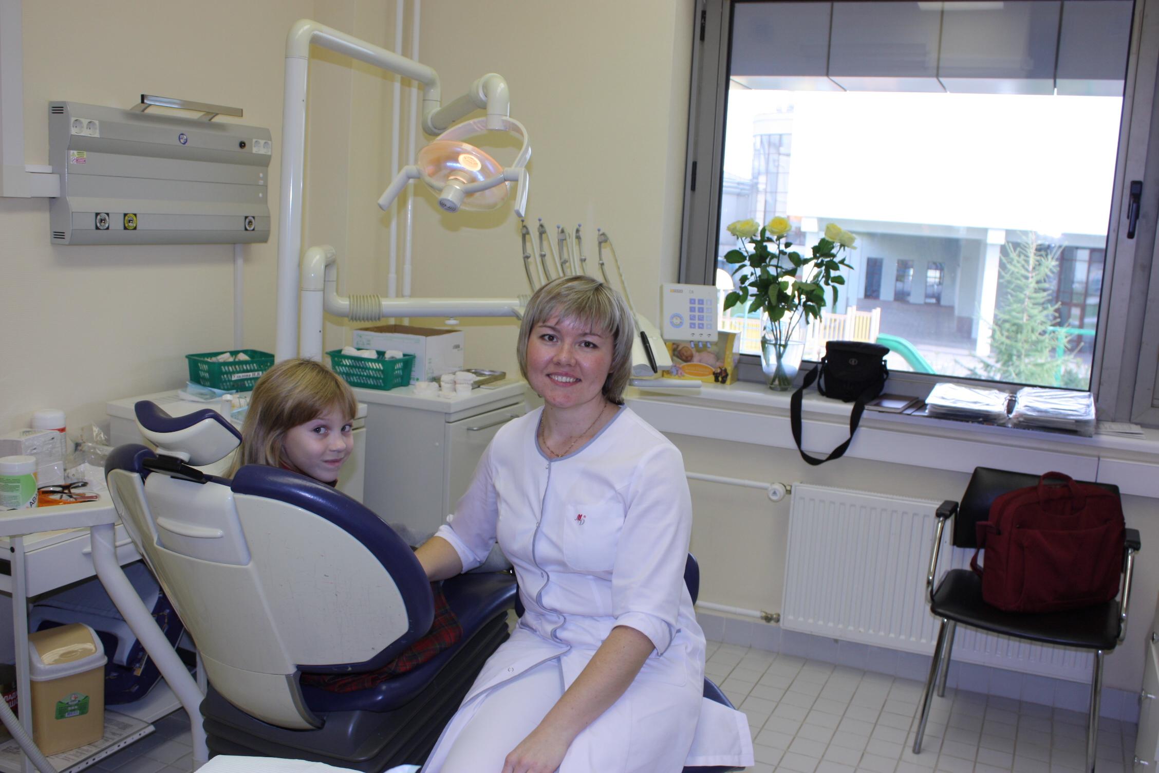 В кабинете у ортодонта